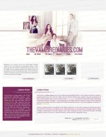 The Vampire Diaries Layout by memorabledesign
