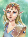 Princess - recolor by Rhoey