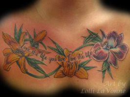 Flower Chest Piece by lavonne