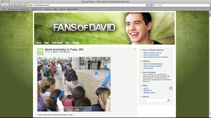 fansofdavid.com by MolaproAndrew