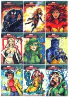 Marvel Masterpieces 3 Batch 5 by HanieMohd