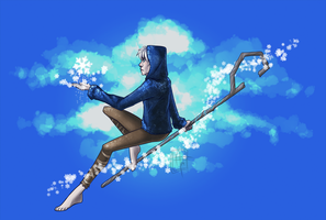 [ Fan Art ] - Jack Frost by Kae-Art