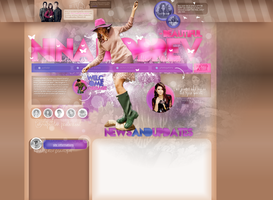 Layout ft. Nina Dobrev 003 by PixxLussy