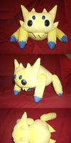 Giant Joltik Plush by xxtemporaryinsanity