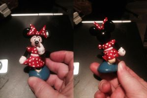Minnie Mouse Figurine by ShadyDarkGirl