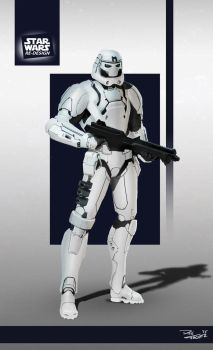 Star Wars ReDesign: Stormtrooper by Phil-Sanchez