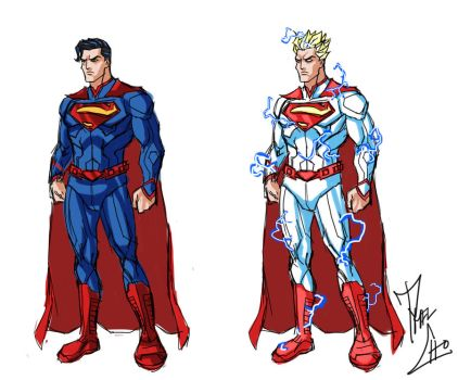Super Kryptonian Concept by phil-cho