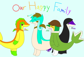 Our Happy Family! by XDTheSnivy