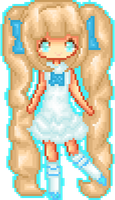 pixel for Tsuki-Hina by Kittensrme