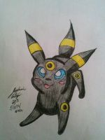 Chibi playful umbreon by Miku-chan9