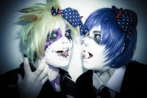 Vocaloid. Lend y Kaito by PePaP