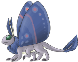 Earl the Moth Dragon by NeoTheBean