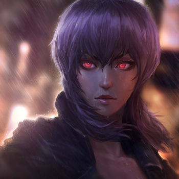 Ghost in the Shell: Motoko v2 by raikoart