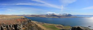 Hvalfjord pano by spartout