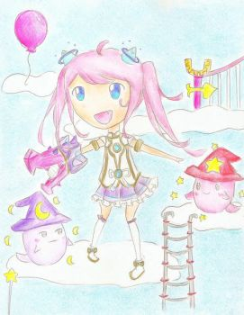 Angelic Buster (MapleStory) by candyleaf