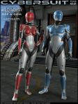 HFS Cybersuit for G2F and G2M by DarioFish