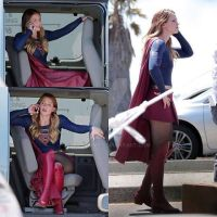 Super Girl Behind The Scene  Pic by mr-grump