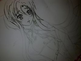 *NEW PAITING - WORK Asuna Yuuki Sword Art Online 2 by K-I-M-I