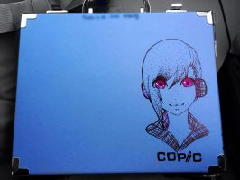 Marker case drawing!! by Bloody0thorn