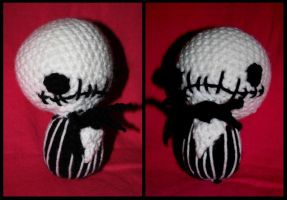 Jack Skellington Amigurumi by Skissored