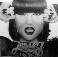 Jessie J Drawing by MsTemmii