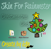 Skin For Rainmeter Chistmas tree by isfe by Isfe
