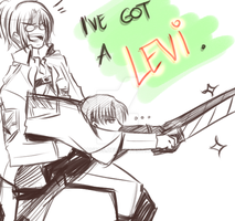 Hanji's Got A Levi by HavFos