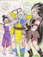 What if-Nappa and Raditz by Iziume89