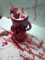 Halloween zombie can by maazjan