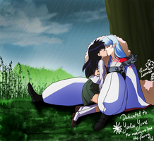 Kagome and Sesshomaru by Arc-Ecclesia