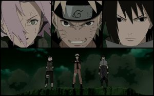 Team 7 - Naruto Shippuuden 372 by ng9