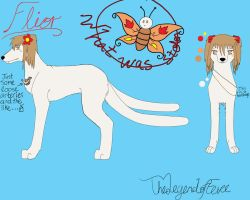 Flior Reference Sheet by TheLegendofEevee
