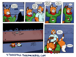 Striped Tails Comic - Chance of Probabililty by JohananP