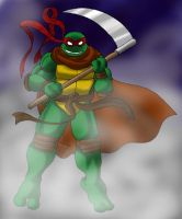 Raphael the reaper by Tigerfog