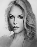 Charlize Theron by Empsuli