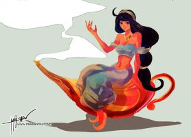 ::Princess Jasmine:: by meisan