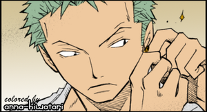 Zoro coloring, Non Perpetual Mind by AnnaHiwatari