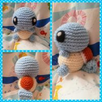 Baby Squirtle by Crochettie