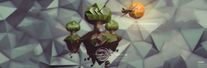 Dare Low Poly Island Banner by CheckeredStuffGFX