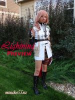 Lightning Cosplay 'Preview' by minako55nz