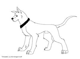 Great dane Template by Ash-Dragon-wolf