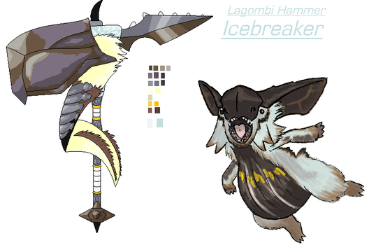 MH4U Contest Entry- The Icebreaker by Lybra1022