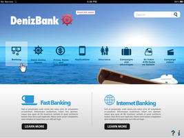 DenizBank iPad app2 by karmooz
