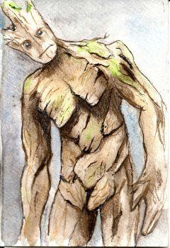 Groot by wooden-mango