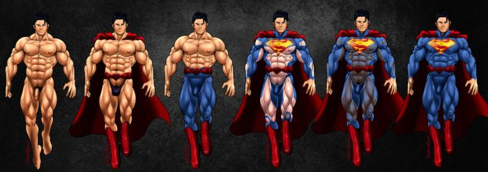 Commission : The Superman by CrimsonBlood-Z