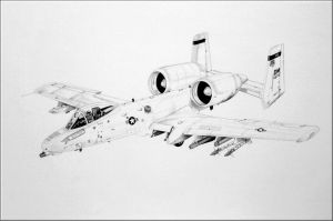 The Mighty A-10 WARTHOG by The-First-Magelord