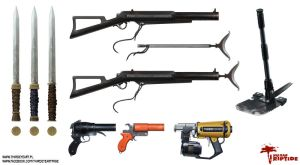 Dead Island : Riptide - Weapon Concepts by thirdeyepl