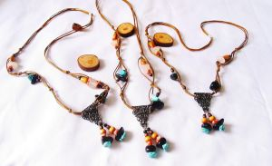 necklace ethnic by aurilianalence