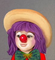 Baby Clown by jantheempress