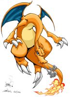 Charizard by pnutink